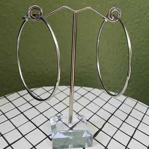 Jewelry - NWT Stainless Steel Hoop Earrings